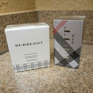 His and her Authentic Burberry